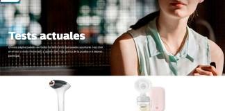 Philips da a probar el extractor de leche y sistema de depilación