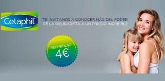 Reembolsos de 4 € en Cetaphil