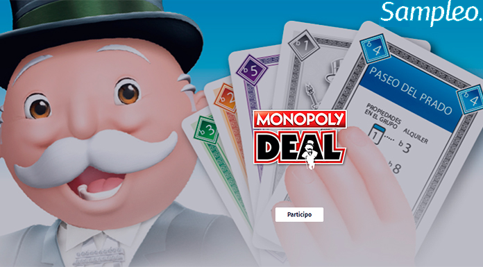 Gratis Monopoly Deal con Sampleo