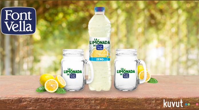 Prueba gratis Limonada Font Vella con Kuvut