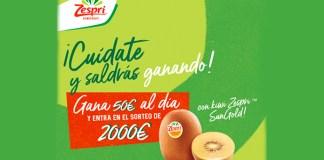 Zespri sortea 2.000 euros este verano