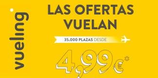 Vuelos Vueling desde 4,99€