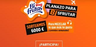 Bifrutas sortea 6.000 euros