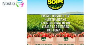 Consigue un huerto Urbano y un viaje con Solís