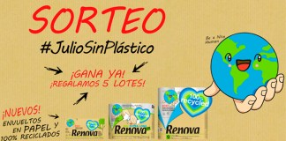 Gana 1 lote de Renova 100% Recycled
