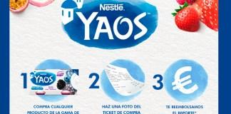 Prueba gratis Yaos de Nestlé
