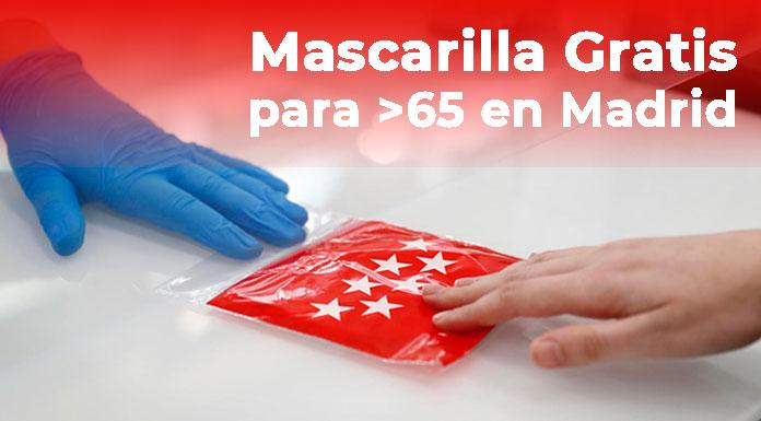 Mascarillas gratis en Madrid