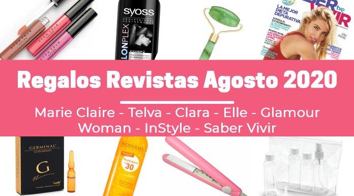 Regalos Revistas Agosto 2020