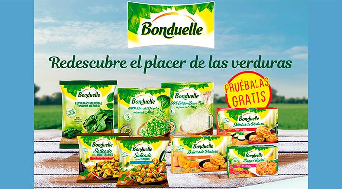 Dan a probar gratis verduras Bonduelle