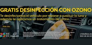 Gratis desinfección del vehículo con Cristalbox