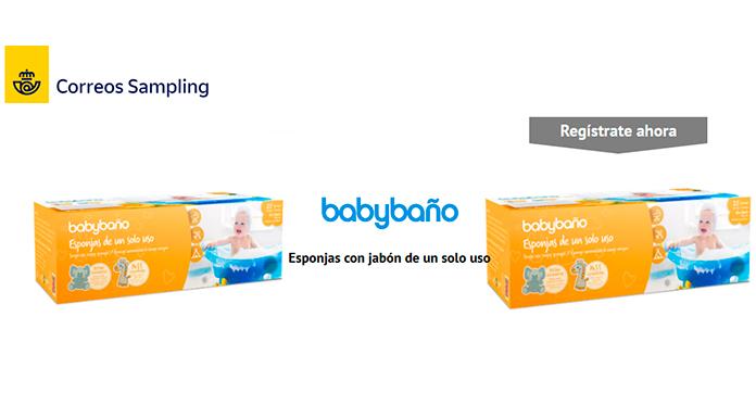 Muestras gratis de Babybaño con Correos Sampling