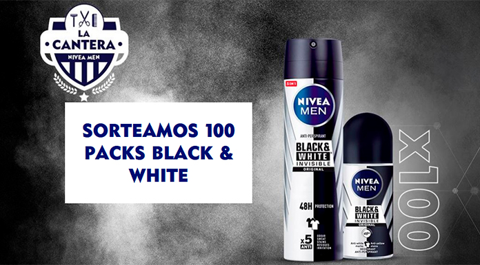 Nivea Men sortea 100 packs Black & White