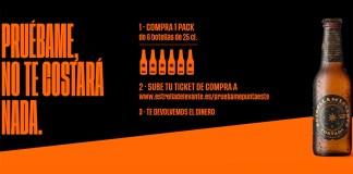 Prueba gratis cerveza Punta Este