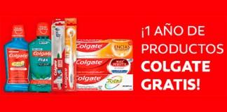 Regalan cada día 1 año de productos Colgate gratis