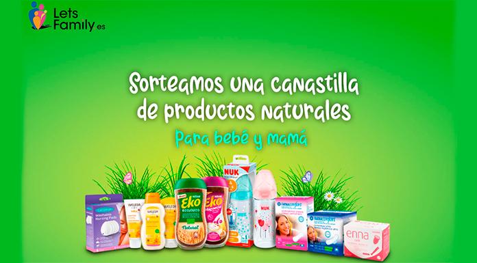 Sorteo de canastilla de productos naturales