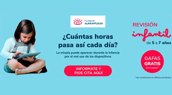 Campaña escolar 2020 en favor de la salud visual