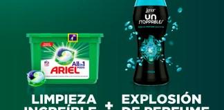 Consigue un kit Ariel PODS + Lenor UNstoppables con Próxima a ti