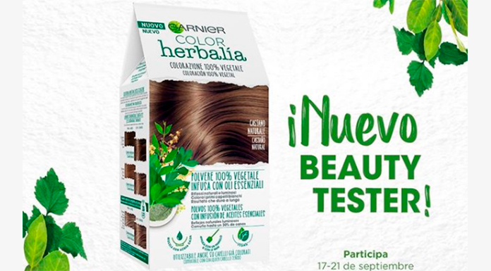Nuevo Beauty Tester: Color Herbalía de Garnier