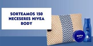 Sortean 150 neceseres Nivea Body