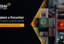 Prueba gratis Audible de Amazon