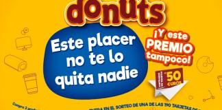 Donuts sortea 190 tarjetas de 50 euros
