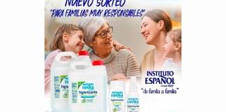 Gana un lote de la Línea de higienizantes de Instituto Español