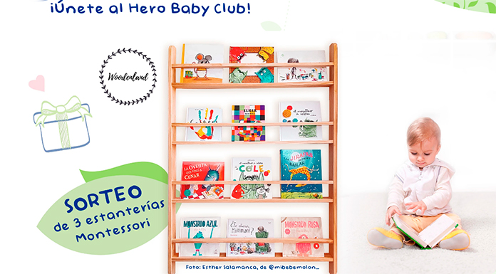 Hero Baby Club sortea 3 estanterías Montessori