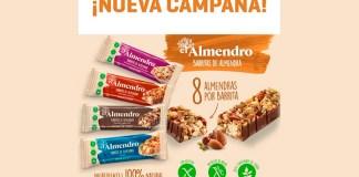 Muestras gratis de las barritas de almendra El Almendro con Samplia