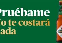 Prueba gratis la cerveza Oro Bilbao