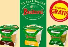 Prueba gratis las nuevas salsas Buitoni