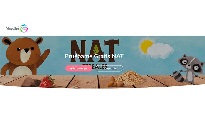 Prueba gratis los nuevos NAT Cereales y NAT Ositos