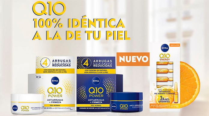 Sortean Ampolas Nivea Q10 Energy