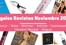 Regalos Revistas Noviembre 2020