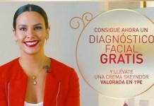 Diagnóstico facial gratis con Skeyndor