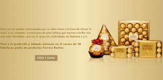 Entra en el sorteo de 10 packs Ferrero Rocher
