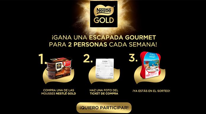 Gana una escapada Gourmet con Nestlé Gold