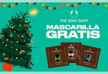Muestras gratis de mascarillas faciales The Body Shop