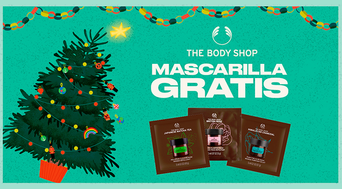 Muestras gratis de mascarillas faciales The Body Shop