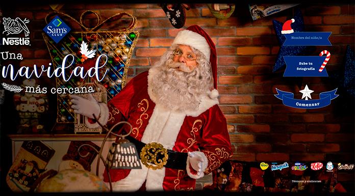 Llamada de Papá Noel con Nestlé y Sam's Club