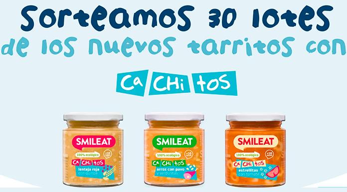 Smileat sortea 30 lotes de sus nuevos tarritos