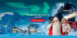 Vídeos gratis de Santa con Polo Norte Portátil