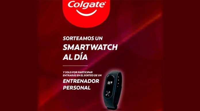 Colgate sortea un Smartwatch al día