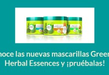 Gana un pack de mascarillas Green de Herbal Essences