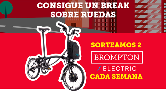 KitKat sortea 2 Brompton Electric cada semana