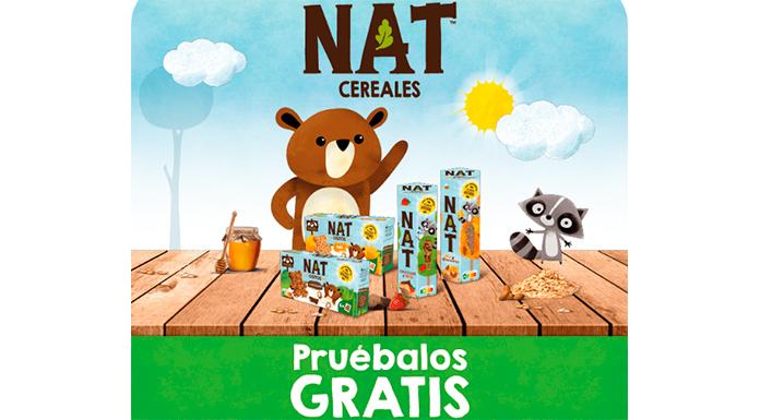 Prueba gratis NAT Cereales y NAT Ositos