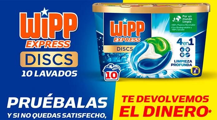 Reembolsos de WiPP Express Discs