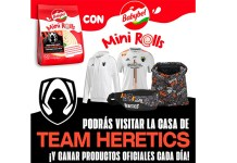 Visita la casa de Team Heretics con Babybel