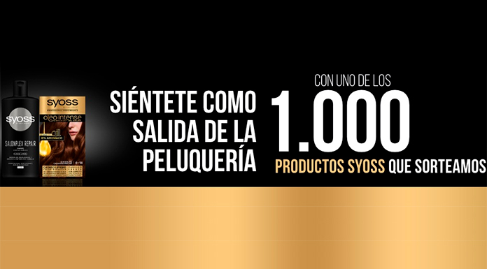 Sorteo de 1.000 productos Syoss