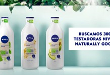 Buscan 300 testadoras Nivea Naturally Good