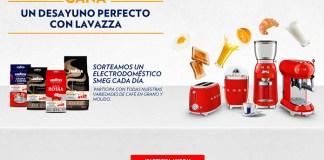 Gana un electrodoméstico con Lavazza